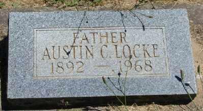 LOCKE, AUSTIN CALVIN - Polk County, Oregon | AUSTIN CALVIN LOCKE - Oregon Gravestone Photos