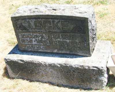 RHODES LOCKE, RHODA - Polk County, Oregon | RHODA RHODES LOCKE - Oregon Gravestone Photos