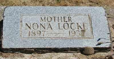 HINKEL LOCKE, NONA - Polk County, Oregon | NONA HINKEL LOCKE - Oregon Gravestone Photos