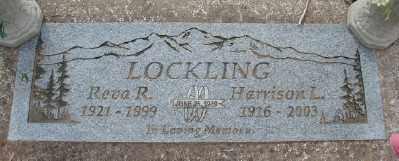 LOCKLING, REVA RACHEL - Polk County, Oregon   REVA RACHEL LOCKLING - Oregon Gravestone Photos