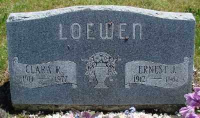 LOEWEN, CLARA - Polk County, Oregon | CLARA LOEWEN - Oregon Gravestone Photos