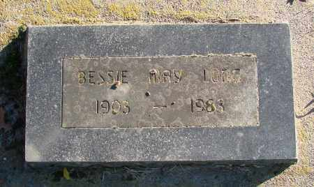 LONG, BESSIE MAY - Polk County, Oregon | BESSIE MAY LONG - Oregon Gravestone Photos
