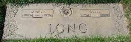 LONG, CARROLL - Polk County, Oregon   CARROLL LONG - Oregon Gravestone Photos