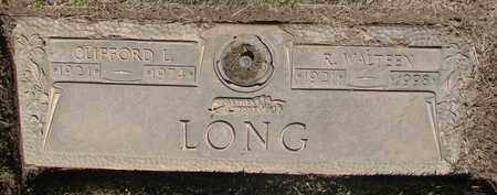 LONG, CLIFFORD LEROY - Polk County, Oregon | CLIFFORD LEROY LONG - Oregon Gravestone Photos