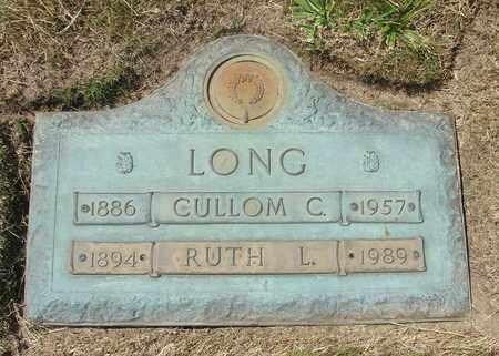 LONG, CULLOM C - Polk County, Oregon | CULLOM C LONG - Oregon Gravestone Photos
