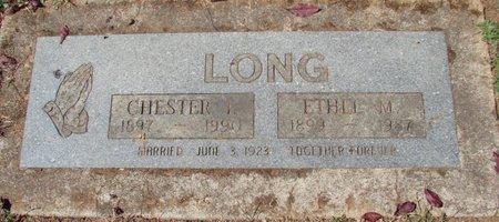 LONG, ETHEL M - Polk County, Oregon | ETHEL M LONG - Oregon Gravestone Photos