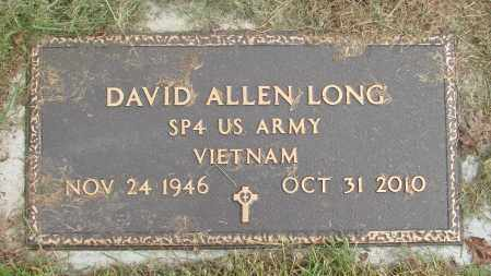 LONG, DAVID ALLEN - Polk County, Oregon | DAVID ALLEN LONG - Oregon Gravestone Photos