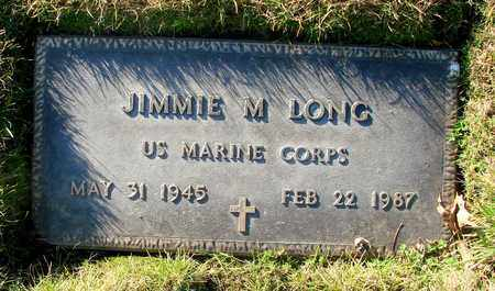 LONG, JIMMIE M - Polk County, Oregon | JIMMIE M LONG - Oregon Gravestone Photos