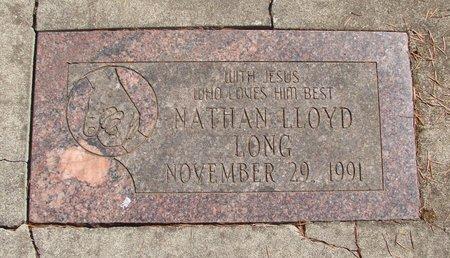 LONG, NATHAN LLOYD - Polk County, Oregon   NATHAN LLOYD LONG - Oregon Gravestone Photos