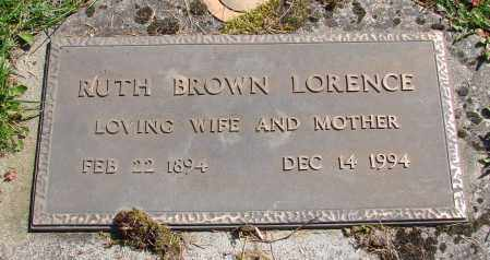 BROWN, RUTH - Polk County, Oregon | RUTH BROWN - Oregon Gravestone Photos