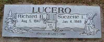 LUCERO, SUEZETTE L - Polk County, Oregon   SUEZETTE L LUCERO - Oregon Gravestone Photos