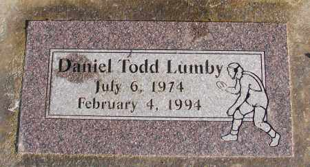 LUMBY, DANIEL TODD - Polk County, Oregon   DANIEL TODD LUMBY - Oregon Gravestone Photos