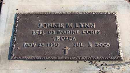 LYNN (KOR), JOHNIE M - Polk County, Oregon | JOHNIE M LYNN (KOR) - Oregon Gravestone Photos