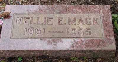 MACK, NELLIE E - Polk County, Oregon | NELLIE E MACK - Oregon Gravestone Photos