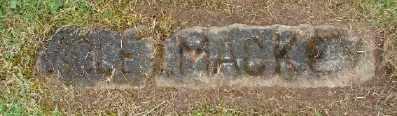 MACKEY, MOLE - Polk County, Oregon   MOLE MACKEY - Oregon Gravestone Photos