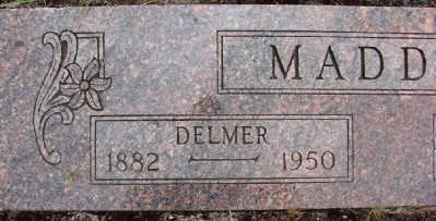 MADDUX, DELMER - Polk County, Oregon | DELMER MADDUX - Oregon Gravestone Photos
