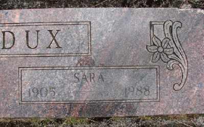 MADDUX, SARA - Polk County, Oregon   SARA MADDUX - Oregon Gravestone Photos