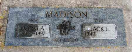 MADISON, JACK L - Polk County, Oregon | JACK L MADISON - Oregon Gravestone Photos