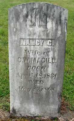 MAGILL, NANCY C - Polk County, Oregon | NANCY C MAGILL - Oregon Gravestone Photos
