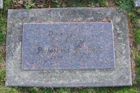 PORTERFIELD, LORENE - Polk County, Oregon | LORENE PORTERFIELD - Oregon Gravestone Photos