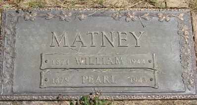 MATNEY, PEARL - Polk County, Oregon   PEARL MATNEY - Oregon Gravestone Photos