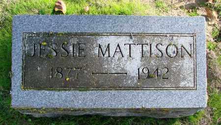 MATTISON, JESSIE - Polk County, Oregon   JESSIE MATTISON - Oregon Gravestone Photos