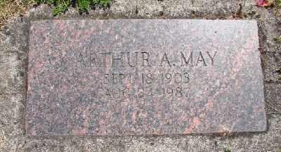 MAY, ARTHUR AUGUST - Polk County, Oregon | ARTHUR AUGUST MAY - Oregon Gravestone Photos