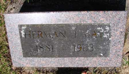 MAY, HERMAN J - Polk County, Oregon | HERMAN J MAY - Oregon Gravestone Photos