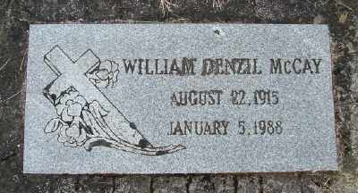 MCCAY, WILLIAM DENZIL - Polk County, Oregon | WILLIAM DENZIL MCCAY - Oregon Gravestone Photos