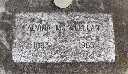 MCCLELLAN, ALVINA - Polk County, Oregon   ALVINA MCCLELLAN - Oregon Gravestone Photos