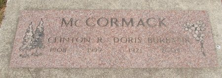 BURBANK MCCORMACK, DORIS MARIE - Polk County, Oregon | DORIS MARIE BURBANK MCCORMACK - Oregon Gravestone Photos