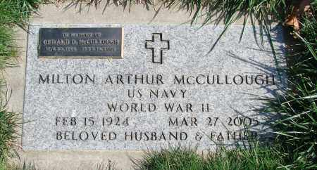 MCCULLOUGH (WWII), GERALD D - Polk County, Oregon   GERALD D MCCULLOUGH (WWII) - Oregon Gravestone Photos