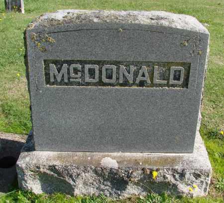 MCDONALD, HAZEL - Polk County, Oregon | HAZEL MCDONALD - Oregon Gravestone Photos