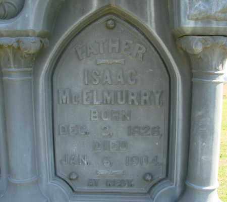 MCELMURRY, ISAAC - Polk County, Oregon | ISAAC MCELMURRY - Oregon Gravestone Photos