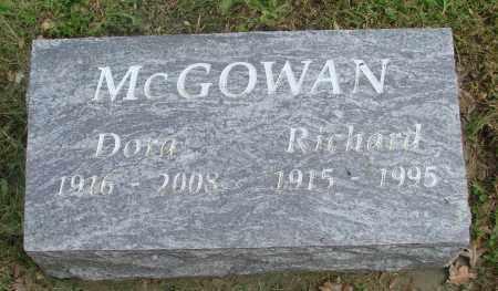 GREY MCGOWAN, DORA - Polk County, Oregon | DORA GREY MCGOWAN - Oregon Gravestone Photos