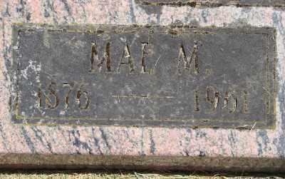 MCGOWAN, MAE MAUD - Polk County, Oregon | MAE MAUD MCGOWAN - Oregon Gravestone Photos