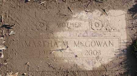 MCGOWAN, MARTHA M - Polk County, Oregon   MARTHA M MCGOWAN - Oregon Gravestone Photos