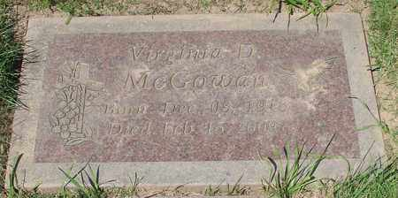 MCGOWAN, VIRGINIA DARYL - Polk County, Oregon | VIRGINIA DARYL MCGOWAN - Oregon Gravestone Photos