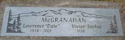 MCGRANAHAN, VIVIAN SOPHIA - Polk County, Oregon | VIVIAN SOPHIA MCGRANAHAN - Oregon Gravestone Photos