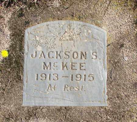 MCKEE, JACKSON S - Polk County, Oregon   JACKSON S MCKEE - Oregon Gravestone Photos
