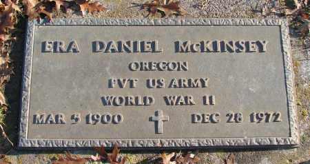 MCKINSEY, ERA DANIEL - Polk County, Oregon | ERA DANIEL MCKINSEY - Oregon Gravestone Photos