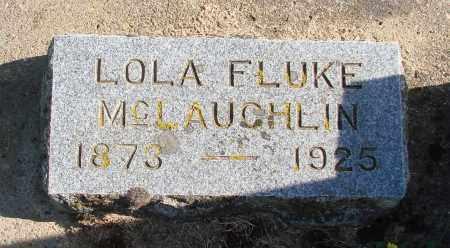 FLUKE, LOLA GAY - Polk County, Oregon | LOLA GAY FLUKE - Oregon Gravestone Photos