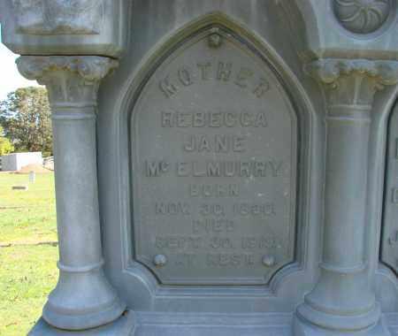 MCZELMURRY, REBECCA JANE - Polk County, Oregon   REBECCA JANE MCZELMURRY - Oregon Gravestone Photos