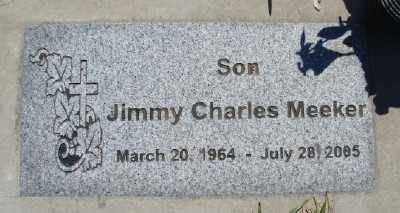 MEEKER, JIMMY CHARLES - Polk County, Oregon   JIMMY CHARLES MEEKER - Oregon Gravestone Photos