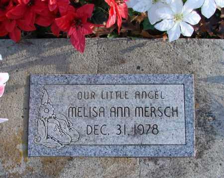 MERSCH, MELISA ANN - Polk County, Oregon | MELISA ANN MERSCH - Oregon Gravestone Photos