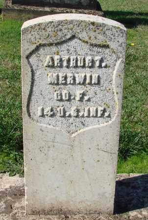 MERWIN (CW), ARTHUR T. - Polk County, Oregon | ARTHUR T. MERWIN (CW) - Oregon Gravestone Photos