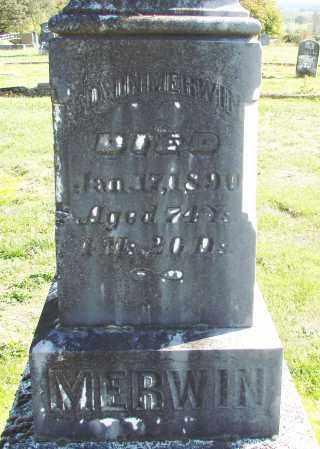 MERWIN, EDWIN - Polk County, Oregon   EDWIN MERWIN - Oregon Gravestone Photos