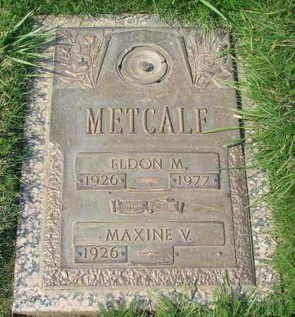 METCALF, MAXINE V - Polk County, Oregon | MAXINE V METCALF - Oregon Gravestone Photos