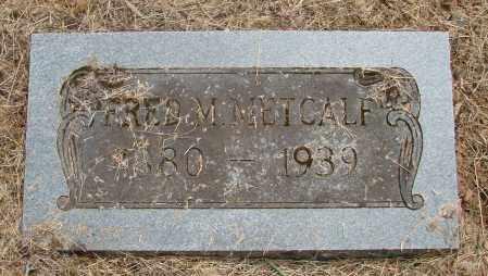 METCALF, FRED M - Polk County, Oregon | FRED M METCALF - Oregon Gravestone Photos