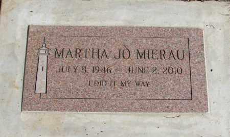 MIERAU, MARTHA JO - Polk County, Oregon   MARTHA JO MIERAU - Oregon Gravestone Photos